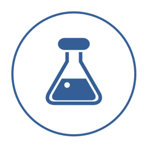 icon of laboratory beaker