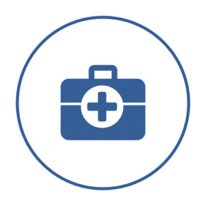 icon of first aid kit
